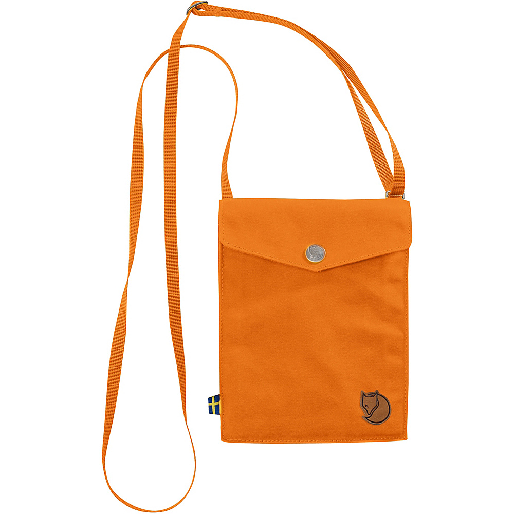 Fjallraven Pocket Crossbody Seashell Orange - Fjallraven Fabric Handbags - Handbags, Fabric Handbags