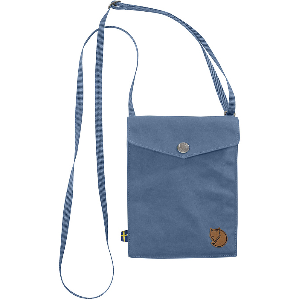 Fjallraven Pocket Crossbody Blue Ridge - Fjallraven Fabric Handbags - Handbags, Fabric Handbags
