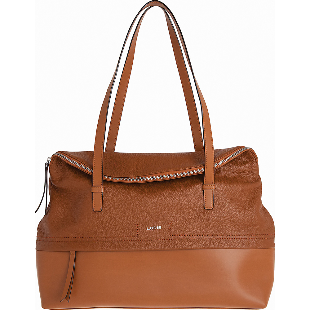 Lodis Kate Giselle Work Tote Toffee - Lodis Leather Handbags - Handbags, Leather Handbags