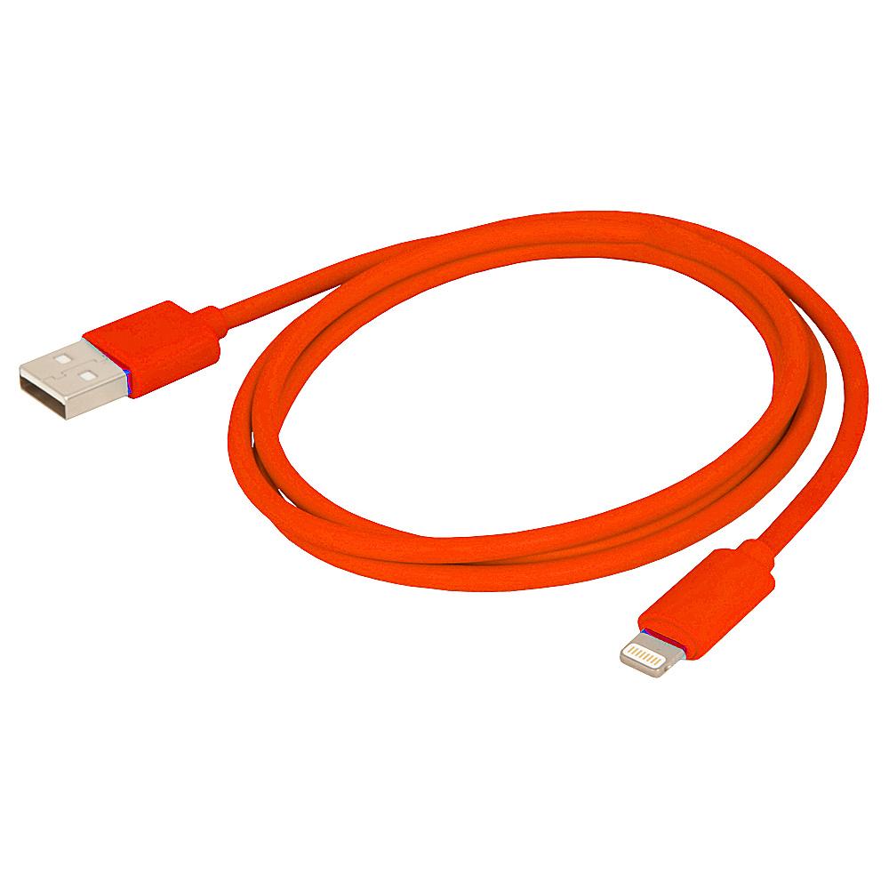 Urban Factory Synchro and Charge Lightening Cable 1m Red Urban Factory Electronic Accessories