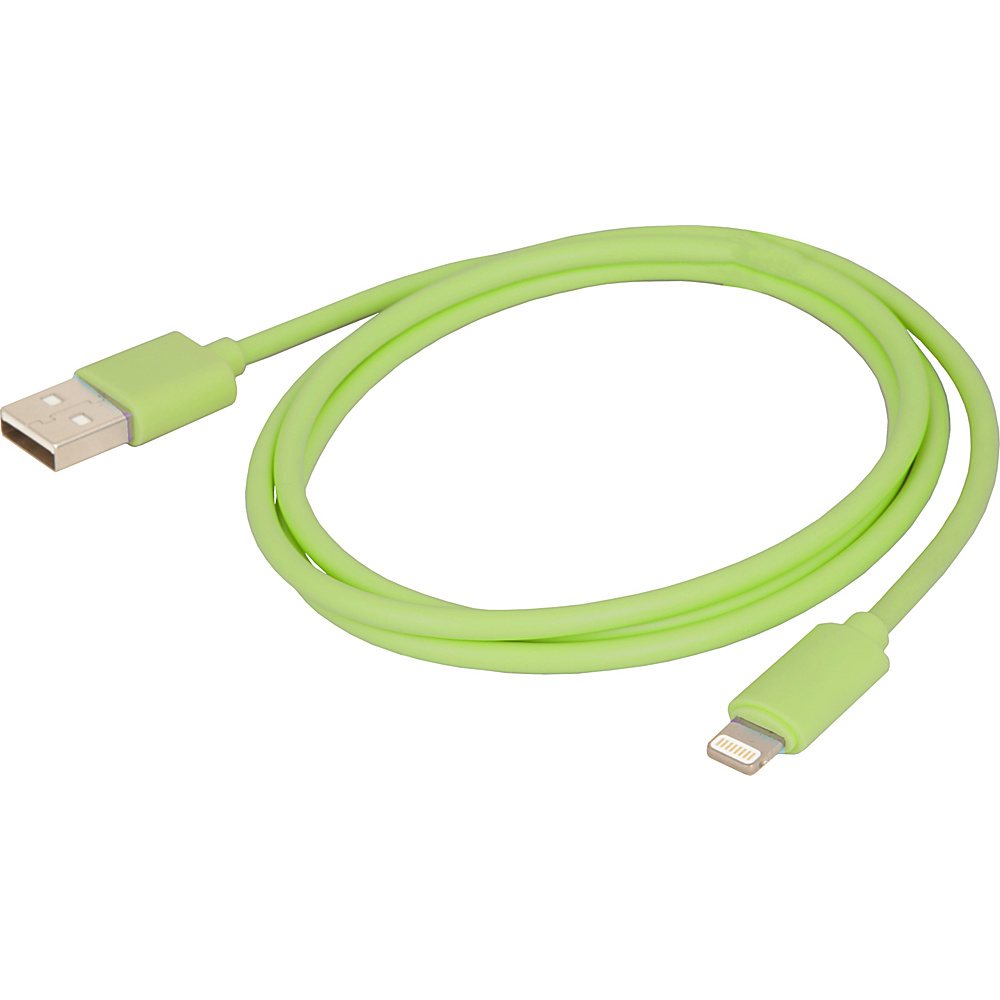 Urban Factory Synchro and Charge Lightening Cable 1m Green Urban Factory Electronic Accessories