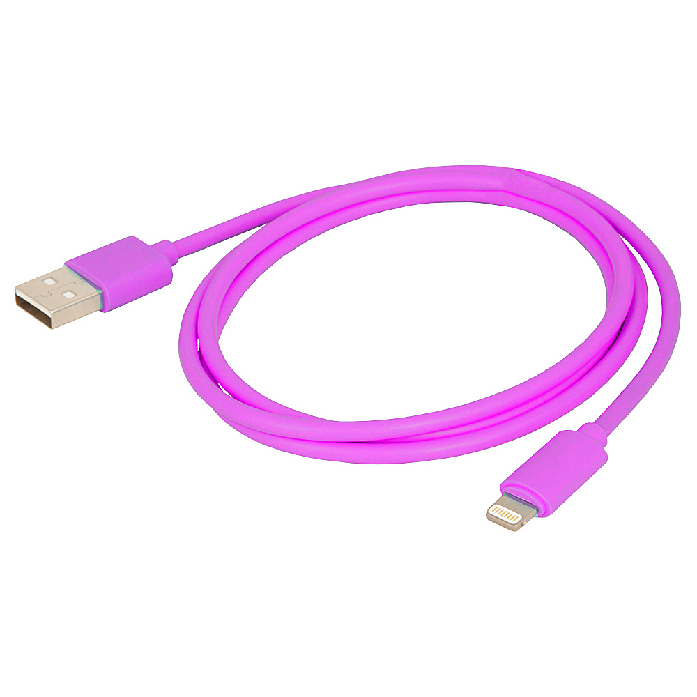 Urban Factory Synchro and Charge Lightening Cable 1m Purple Urban Factory Electronic Accessories