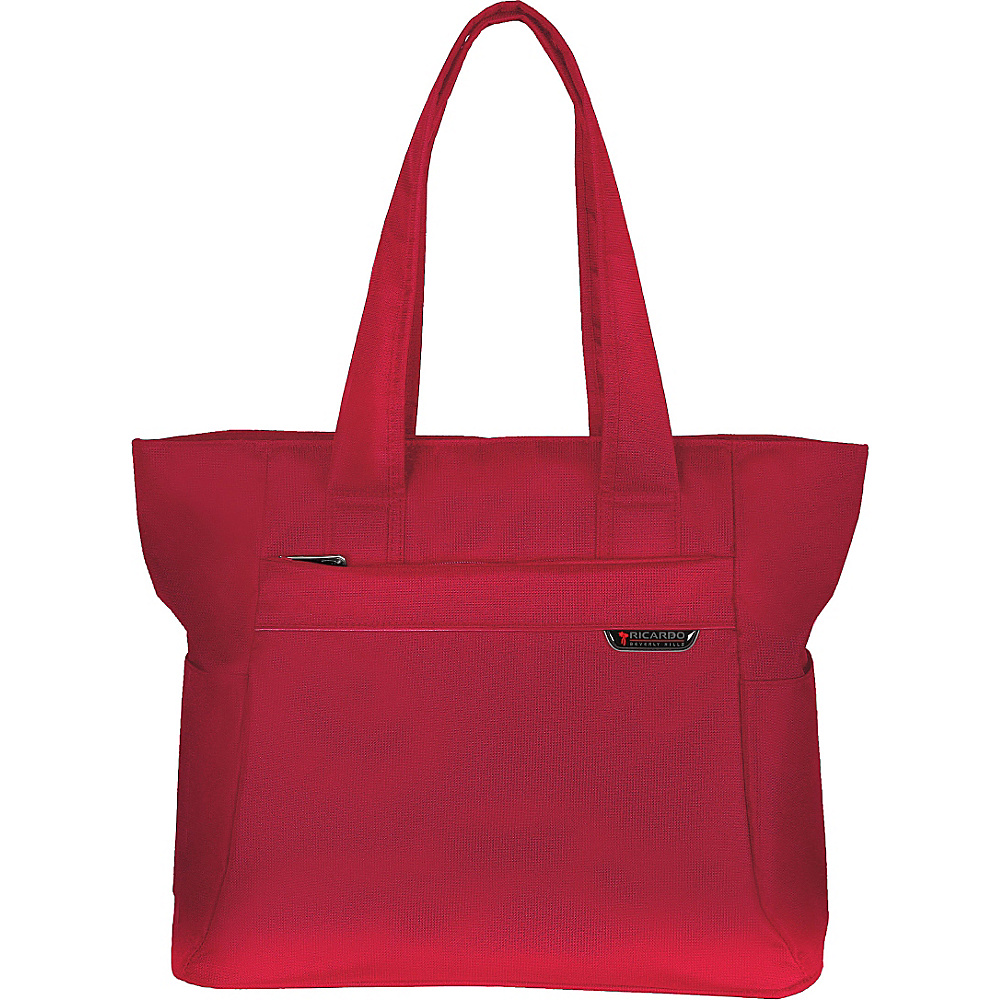 Ricardo Beverly Hills Lockwood 16 Tote Red Cherry Ricardo Beverly Hills Fabric Handbags