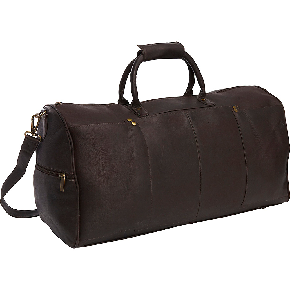 Le Donne Leather Tuscan Duffel Cafe - Le Donne Leather Travel Duffels - Duffels, Travel Duffels