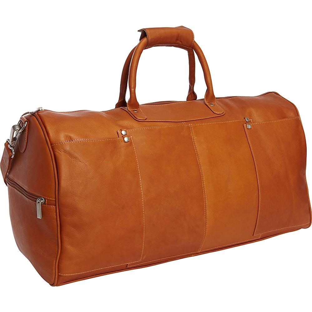 Le Donne Leather Tuscan Duffel Tan - Le Donne Leather Travel Duffels - Duffels, Travel Duffels