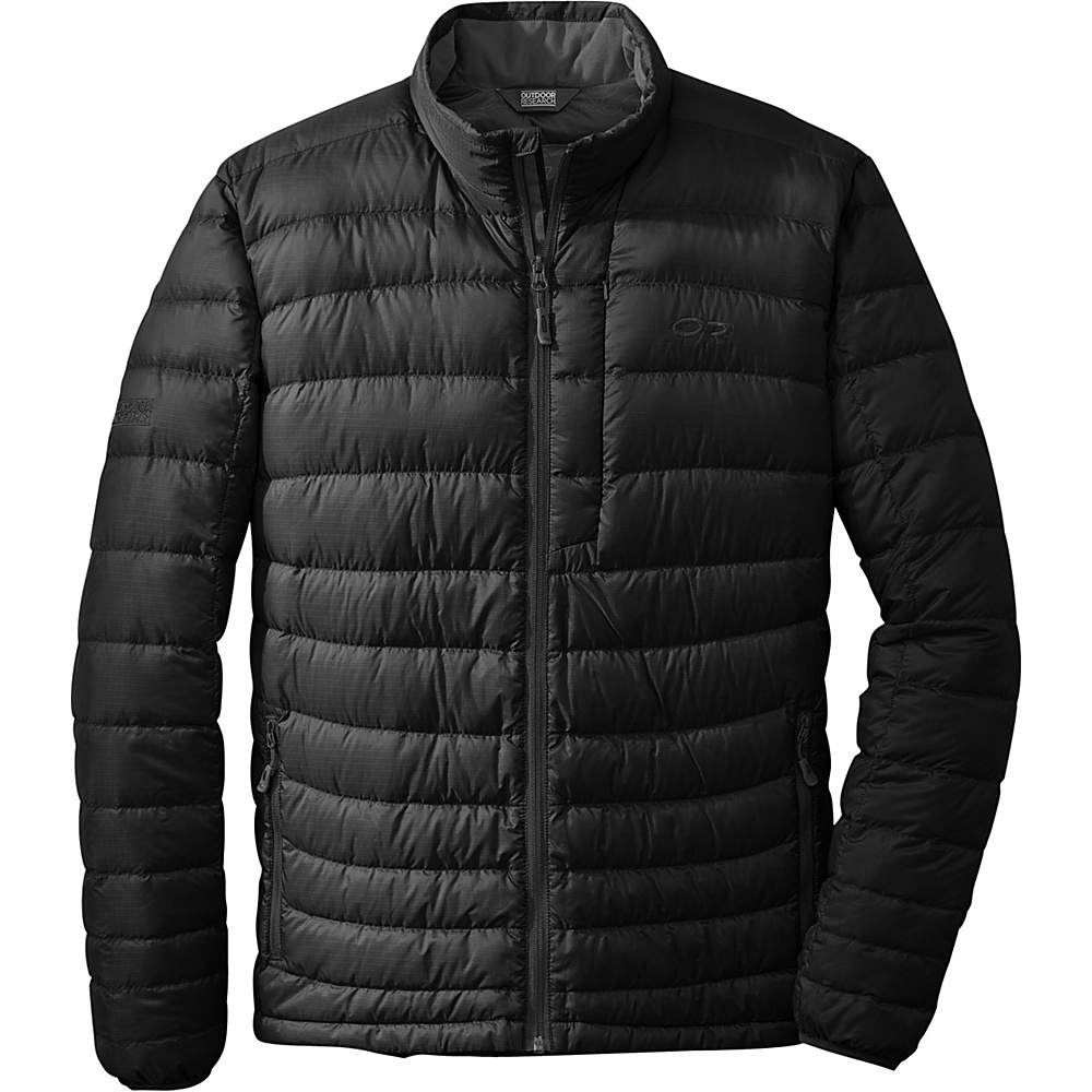 Outdoor Research Mens Transcendent Sweater S - Black - Outdoor Research Mens Apparel - Apparel & Footwear, Men's Apparel