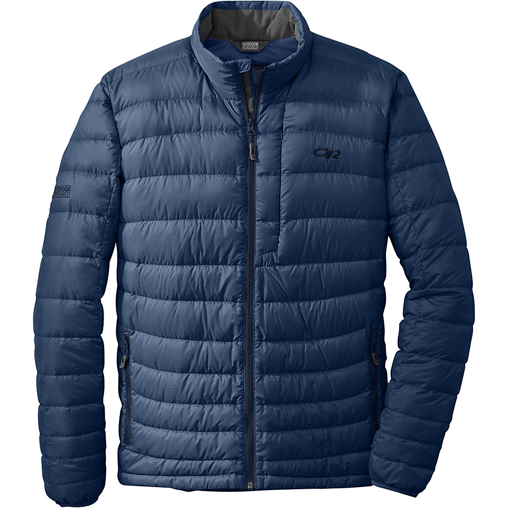 Outdoor Research Mens Transcendent Sweater L - Dusk/Night - Outdoor Research Mens Apparel - Apparel & Footwear, Men's Apparel
