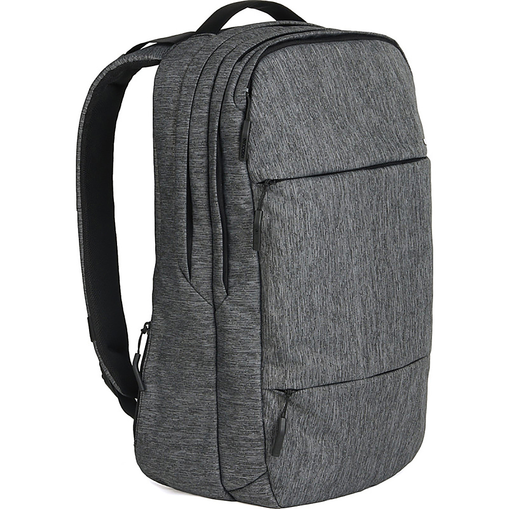 Incase City Collection Backpack Heather Black Gunmetal Gray Incase Business Laptop Backpacks
