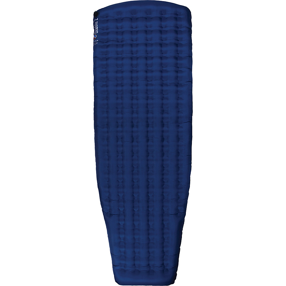 Big Agnes Insulated Double Z Sleeping Pad Navy Wide Long Big Agnes Outdoor Accessories