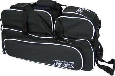 Tenth Frame Glide Triple Tote Plus Black - Tenth Frame Bowling Bags