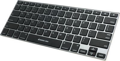 IOGEAR KeySlate Ultra-Slim Bluetooth 4.0 Keyboard for iOS Devices Stainless Steel - IOGEAR Electronic Accessories
