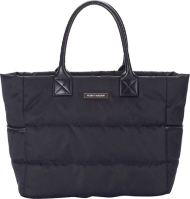 Perry Mackin Anouk Diaper Tote Black - Perry Mackin Diaper Bags & Accessories