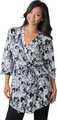 Soybu Stretch Cotton Modal Spa Robe S/M - Orchid Pond - Soybu Women's Apparel
