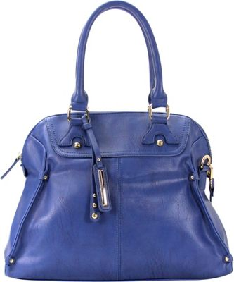 Chasse Wells Boston Elite Tote BLUE - Chasse Wells Manmade Handbags