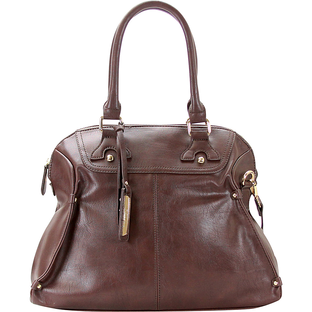 Chasse Wells Boston Elite Tote Chocolate Chasse Wells Manmade Handbags