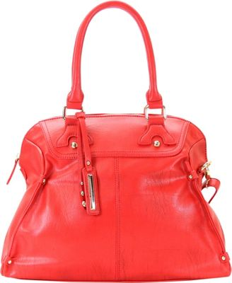 Chasse Wells Boston Elite Tote Red - Chasse Wells Manmade Handbags