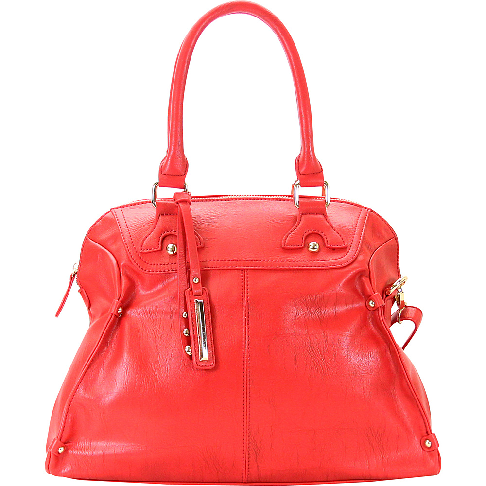 Chasse Wells Boston Elite Tote Red Chasse Wells Manmade Handbags