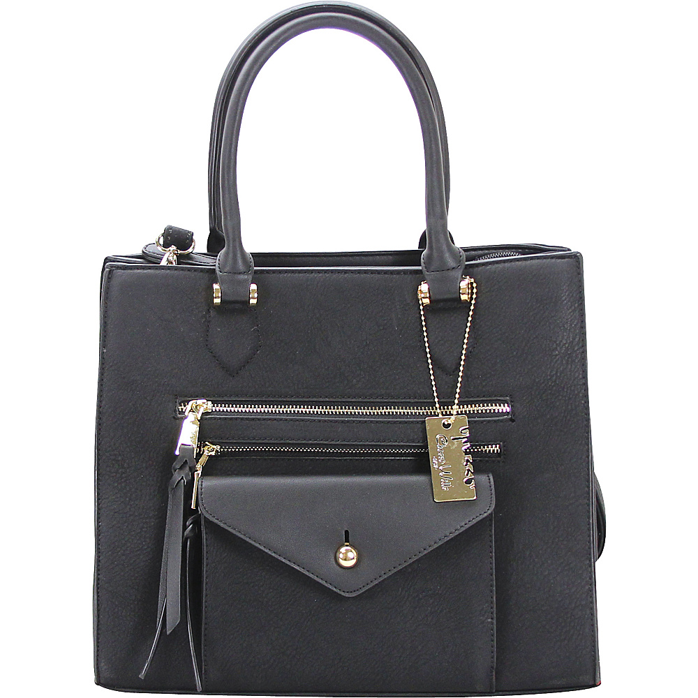Chasse Wells Access Facile Tote Black Chasse Wells Manmade Handbags