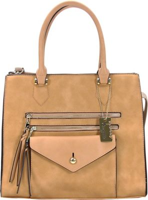Chasse Wells Access Facile Tote Camel - Chasse Wells Manmade Handbags