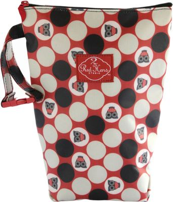 Image of 2 Red Hens Diaper Pack Owl Dots - 2 Red Hens Diaper Bags