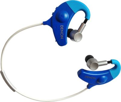 Denon Exercise Freak Wireless Sweatproof Earbuds Blues - Denon Headphones & Speakers