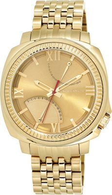 Vince Camuto Watches Men's Gold-Tone Stainless Steel Link Bracelet Watch Gold - Vince Camuto Watches Watches