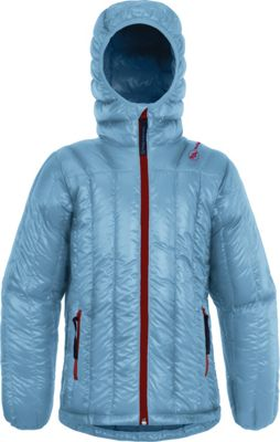 Big Agnes Kids Ice House Hoodie XS - Dusk Blue/Whale Blue - Big Agnes Women's Apparel