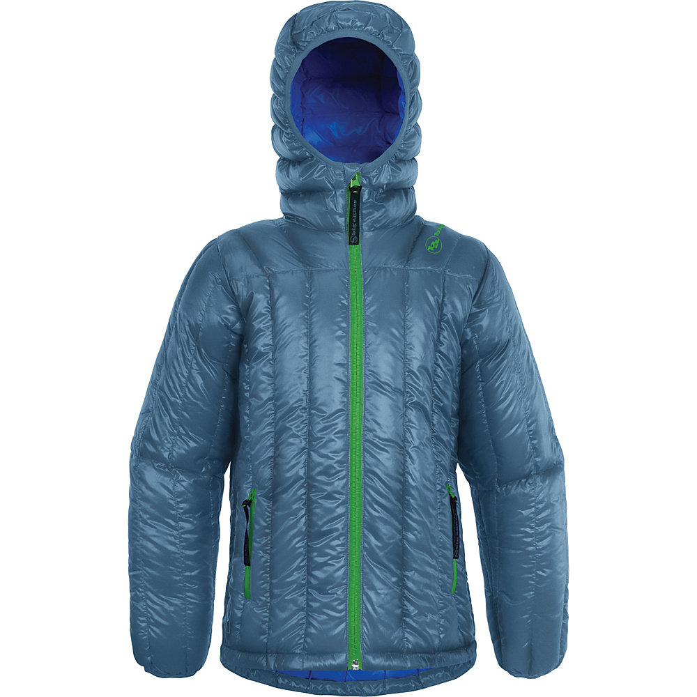Big Agnes Kids Ice House Hoodie M Whale Blue Parrot Blue Big Agnes Women s Apparel