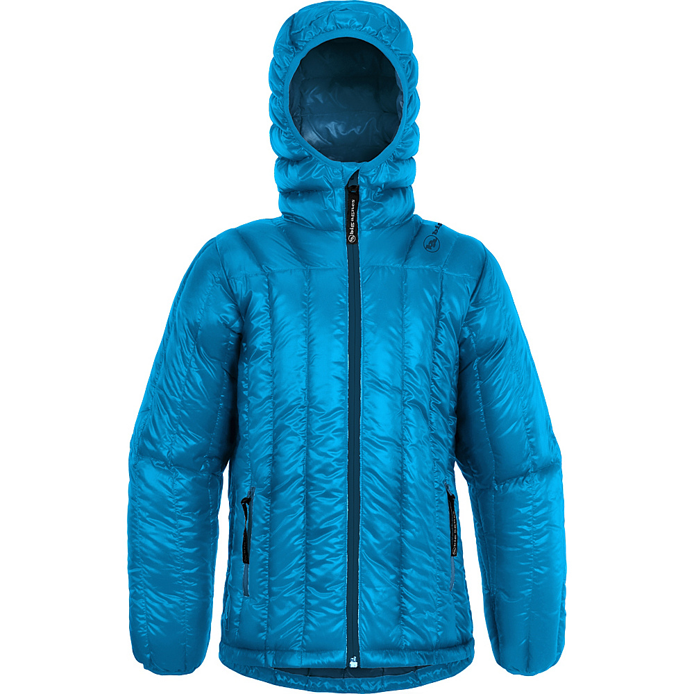 Big Agnes Kids Ice House Hoodie L Whale Blue Parrot Blue Big Agnes Women s Apparel