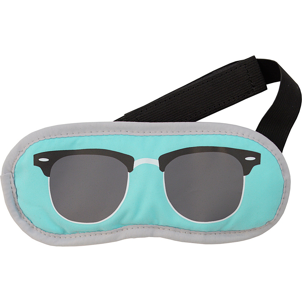 Flight 001 Shades Eyemask James Neon Blue Flight 001 Travel Health Beauty