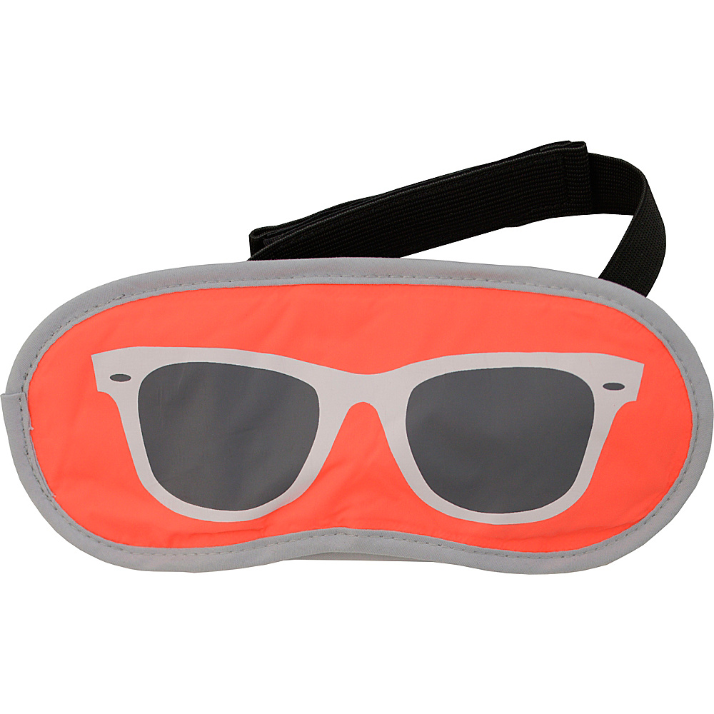 Flight 001 Shades Eyemask Ray Neon Orange Flight 001 Travel Health Beauty