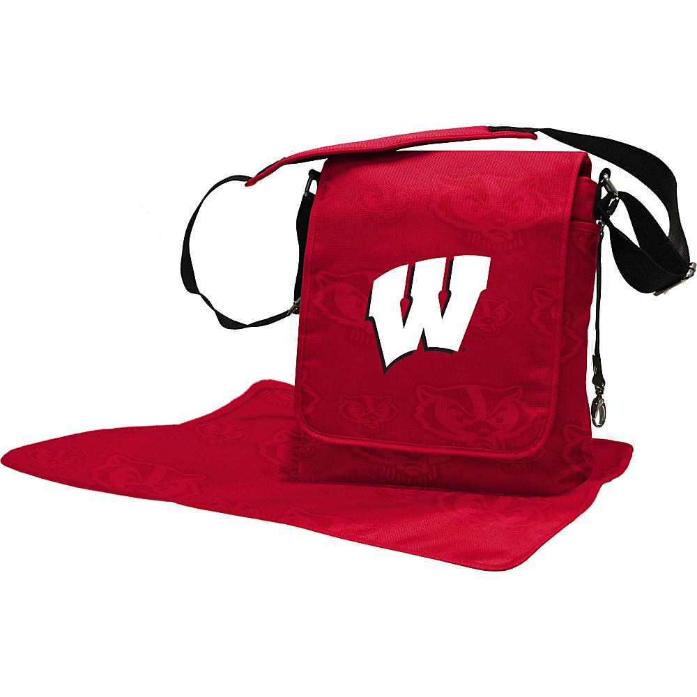 Lil Fan Big 10 Teams Messenger Bag University of Wisconsin - Lil Fan Diaper Bags & Accessories
