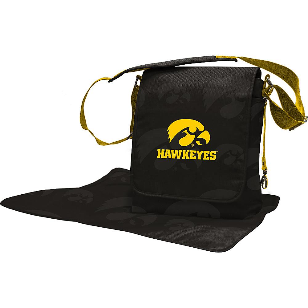 Lil Fan Big 10 Teams Messenger Bag University of Iowa - Lil Fan Diaper Bags & Accessories