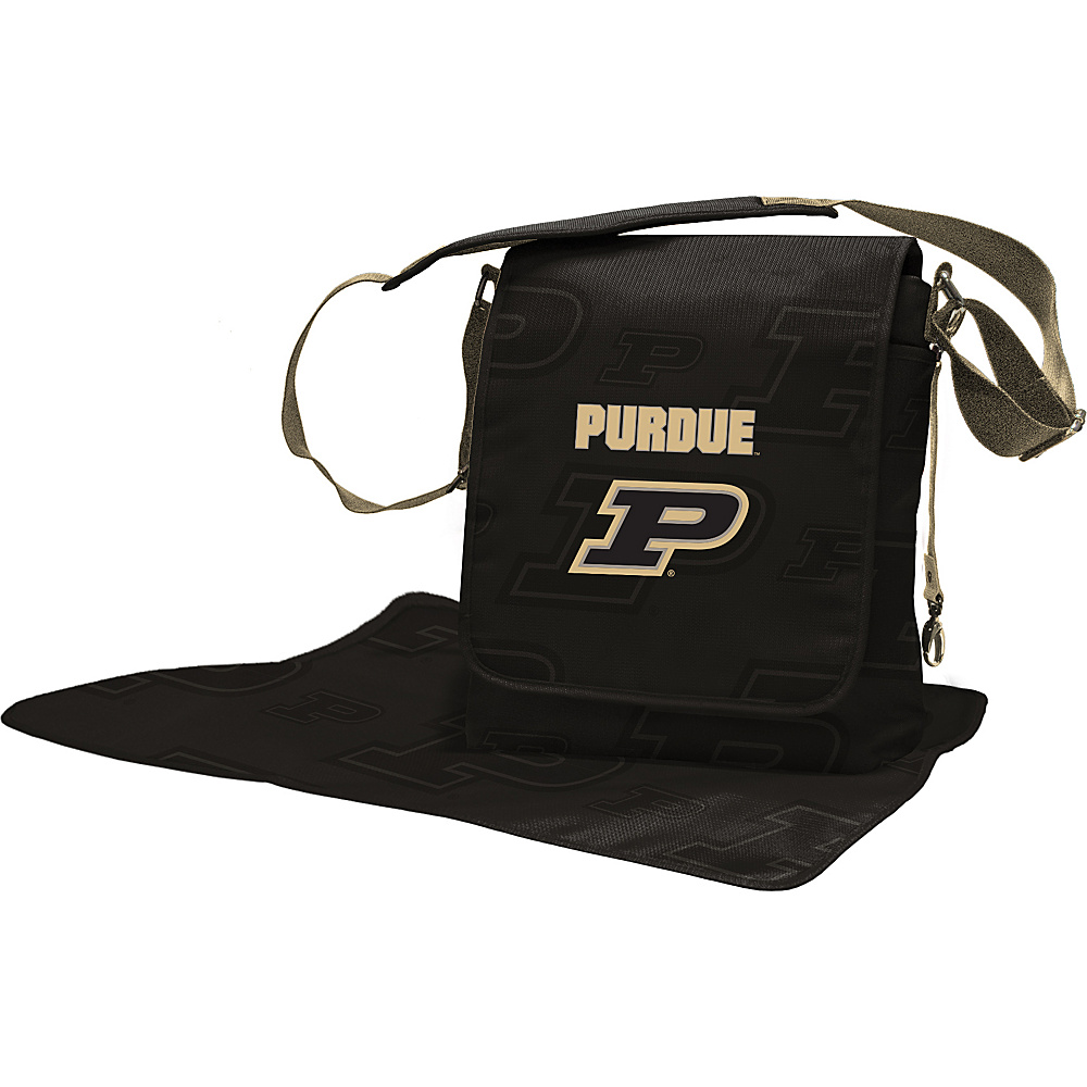 Lil Fan Big 10 Teams Messenger Bag Purdue University - Lil Fan Diaper Bags & Accessories