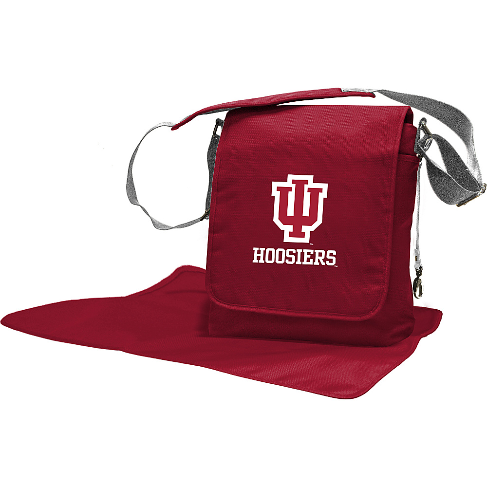 Lil Fan Big 10 Teams Messenger Bag Indiana University - Lil Fan Diaper Bags & Accessories