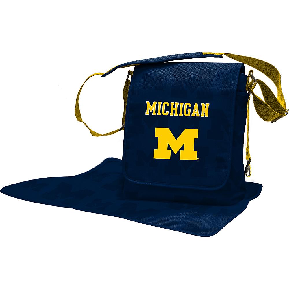 Lil Fan Big 10 Teams Messenger Bag University of Michigan - Lil Fan Diaper Bags & Accessories