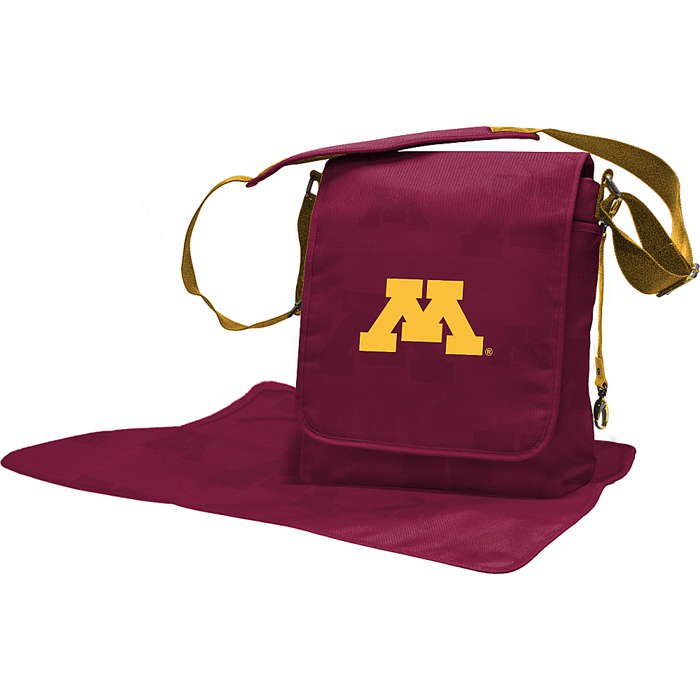 Lil Fan Big 10 Teams Messenger Bag University of Minnesota - Lil Fan Diaper Bags & Accessories