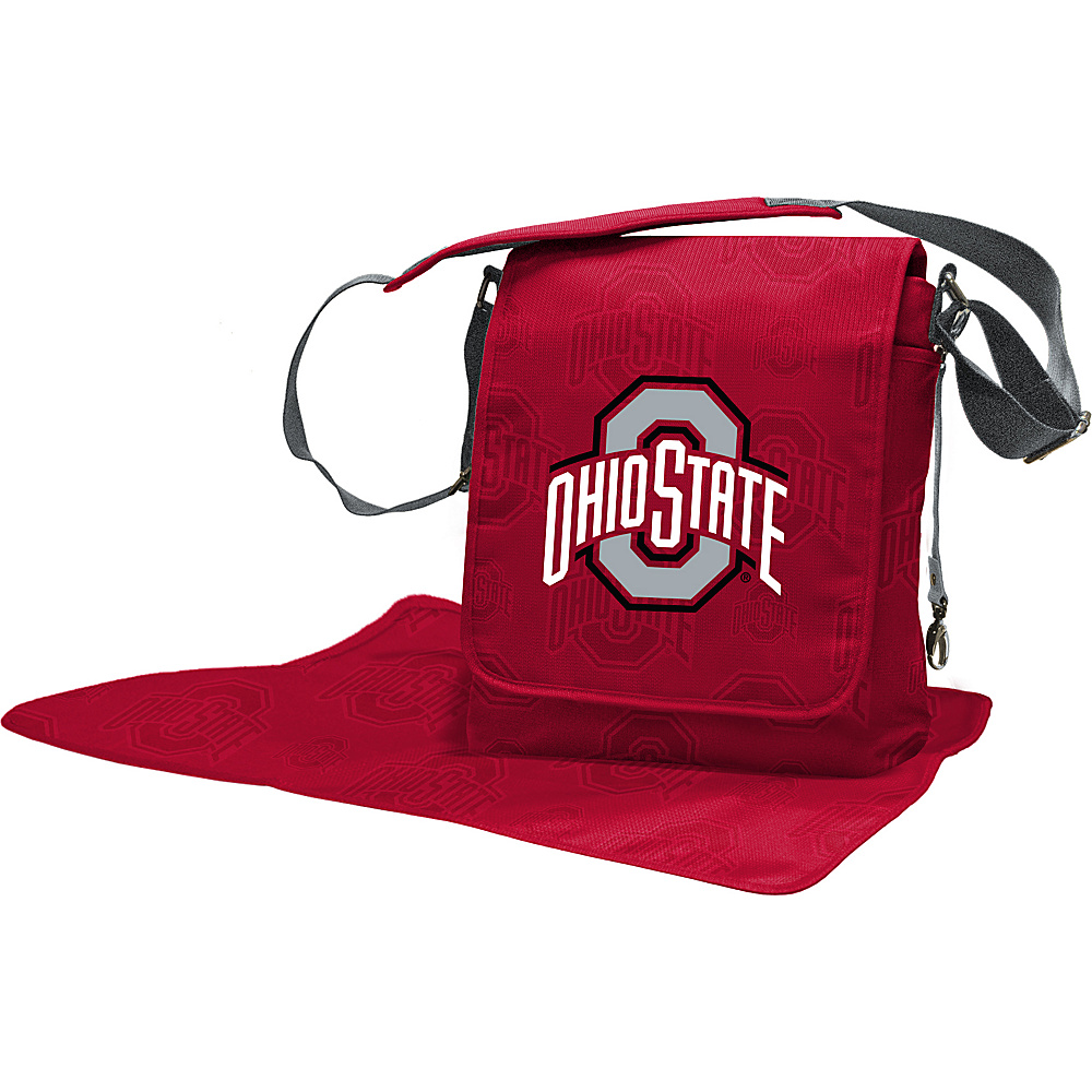 Lil Fan Big 10 Teams Messenger Bag Ohio State University - Lil Fan Diaper Bags & Accessories
