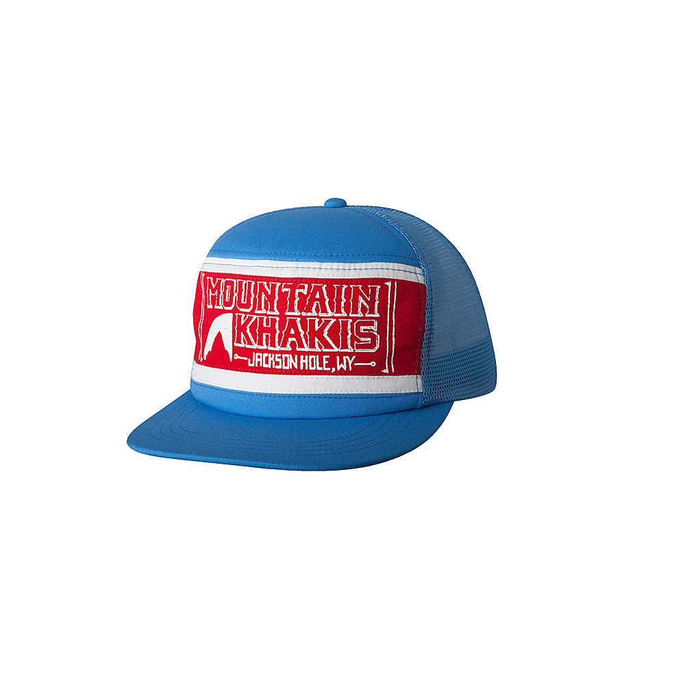 Mountain Khakis Billboard Trucker Cap Powder Blue Mountain Khakis Hats Gloves Scarves