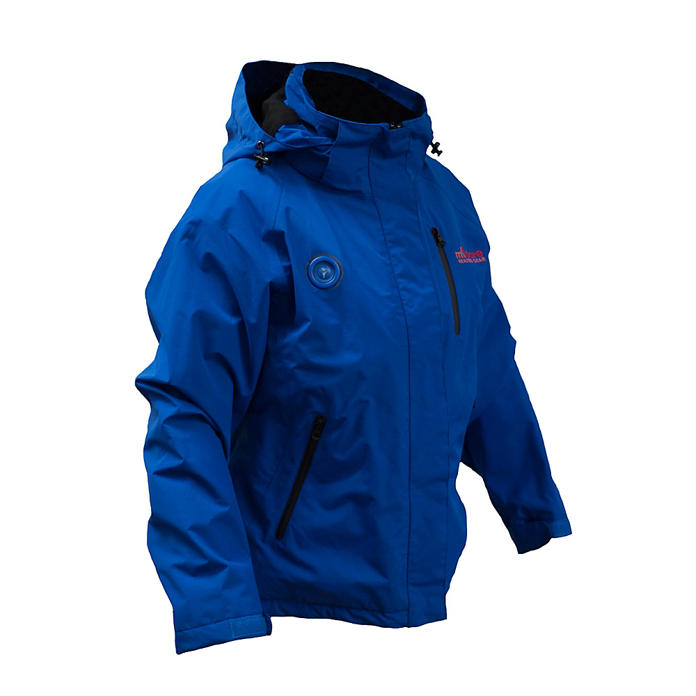 My Core Control Womens Heated Ski Jacket L Royal Blue My Core Control Women s Apparel