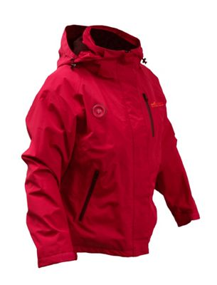My Core Control Womens Heated Ski Jacket L - Red - My Core Control Women's Apparel