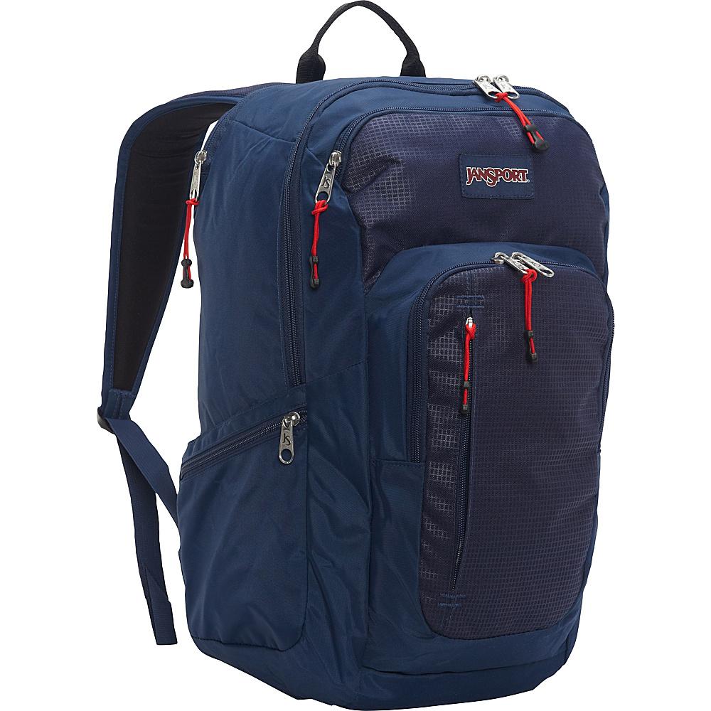 JanSport Recruit Laptop Backpack Navy - JanSport Laptop Backpacks - Backpacks, Laptop Backpacks