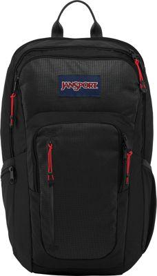 JanSport Recruit Laptop Backpack Black - JanSport Business & Laptop Backpacks
