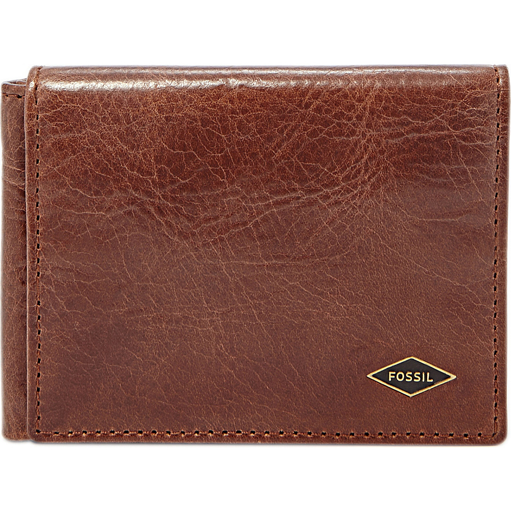 Fossil Ryan Execufold Dark Brown - Fossil Mens Wallets - Work Bags & Briefcases, Men's Wallets