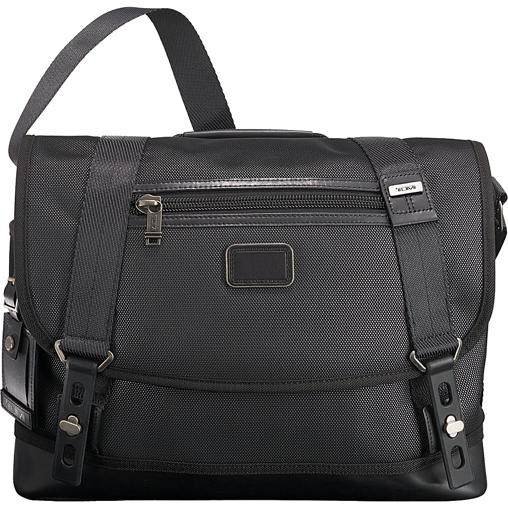 Tumi Alpha Bravo Foster Messenger Reflective Silver - Tumi Messenger Bags - Work Bags & Briefcases, Messenger Bags