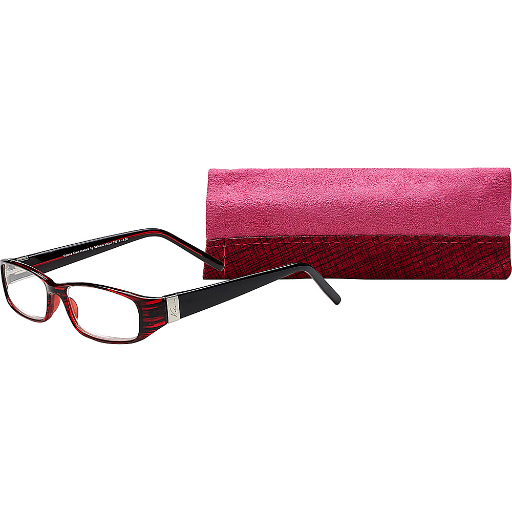 Select A Vision Victoria Klein Reading Glasses 1.25 Burgundy Select A Vision Sunglasses