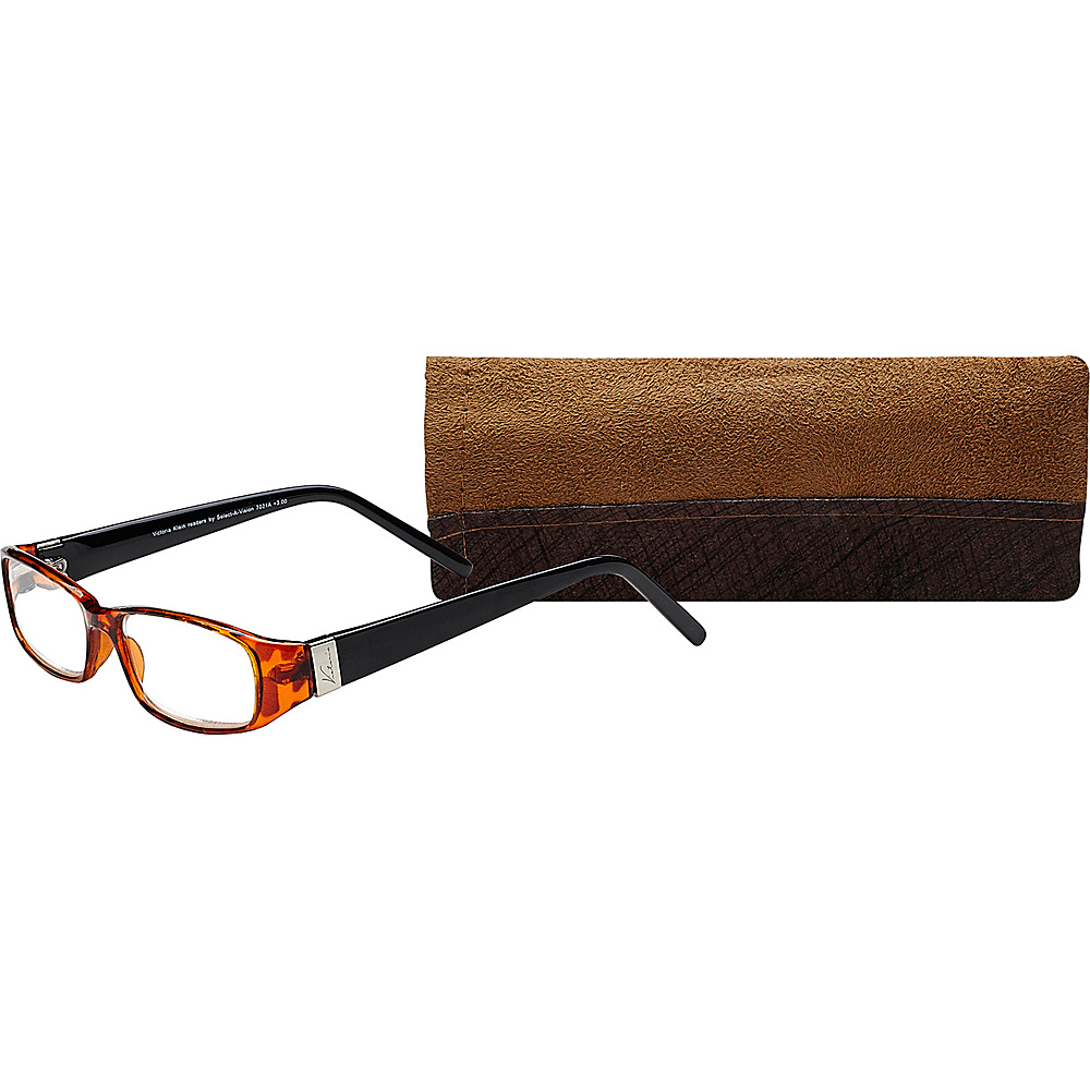 Select A Vision Victoria Klein Reading Glasses 2.00 Burgundy Select A Vision Sunglasses