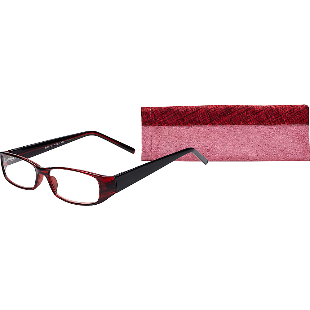 Select A Vision Victoria Klein Reading Glasses 2.75 Burgundy Select A Vision Sunglasses