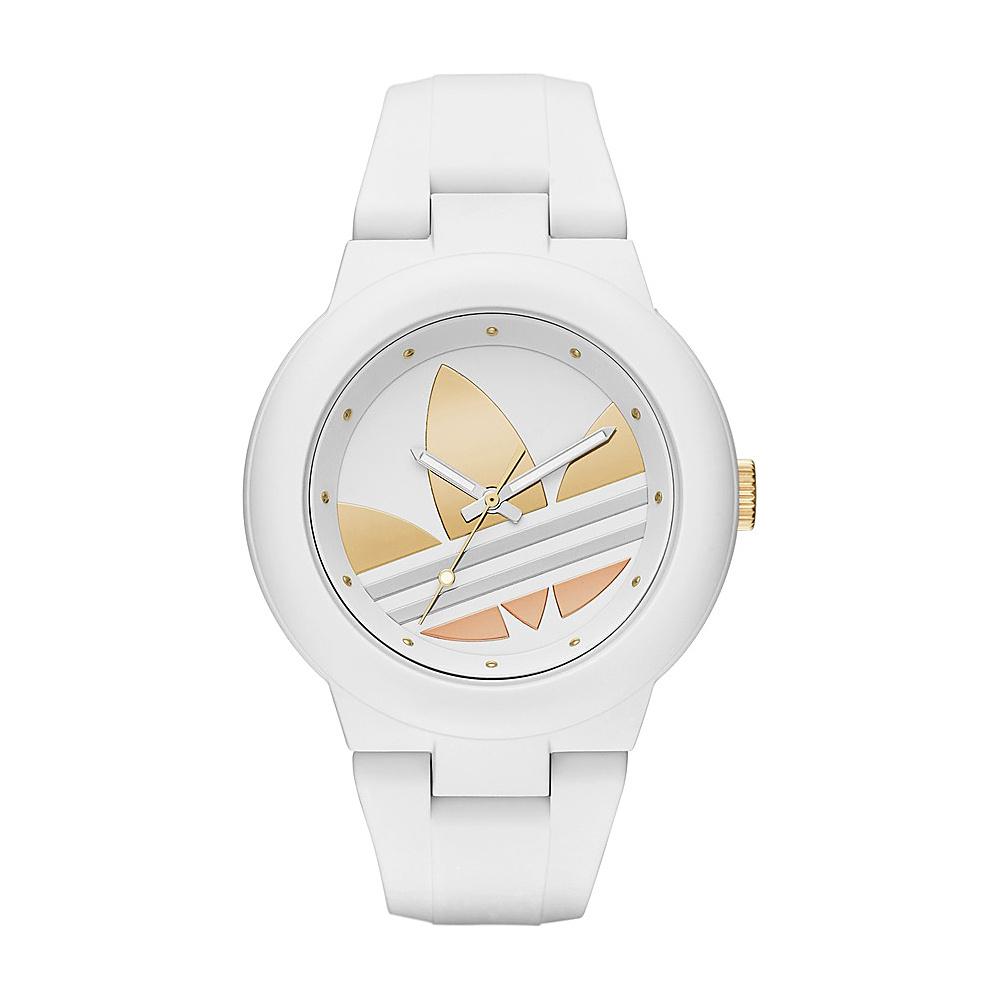 adidas watches Aberdeen Three Hand Silicone Watch White - adidas watches Watches