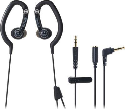Audio Technica SonicSport In-Ear Hook Style Waterproof Headphones Black - Audio Technica Headphones & Speakers